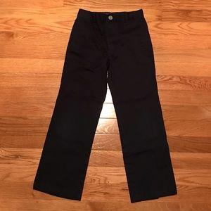 Boys Size 6 Cherokee Ultimate Khaki Navy Pants